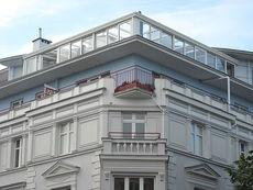 Терраса многоэтажного дома