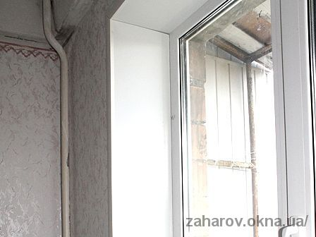 Цены на пластиковые откосы на двухстворчатое окно при глубине откоса до 30 см