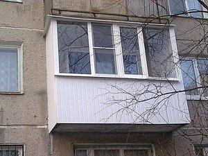 Балкон — Окна Стек