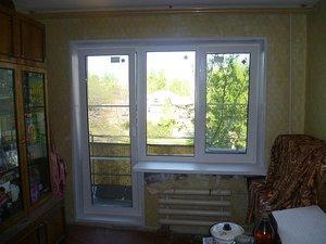 Балконный блок — Окна Стек