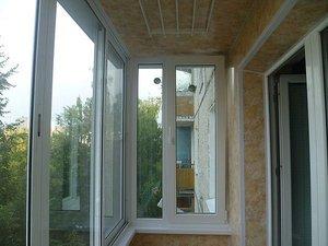 Отделка балконов — Окна Стек