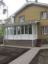 Приватний будинок в Київській області — АлюПластика