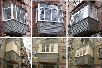 Примеры выполненых роботн балконов под ключ — АРД компания