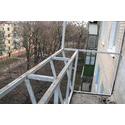 увелечение балкона