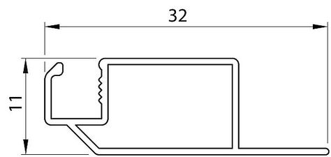 Профиль 11х32 ULTRA — Декосан