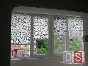 рулонні штори відкритого типу на балкон — ДОКСЕРВИС