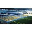 Объект компании ДП `Екран-ВК` - стадион Арена, г. Львов к Евро-2012