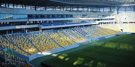 Объект компании ДП `Екран-ВК` - стадион Арена, г. Львов к Евро-2012 — Экран-Викносвит