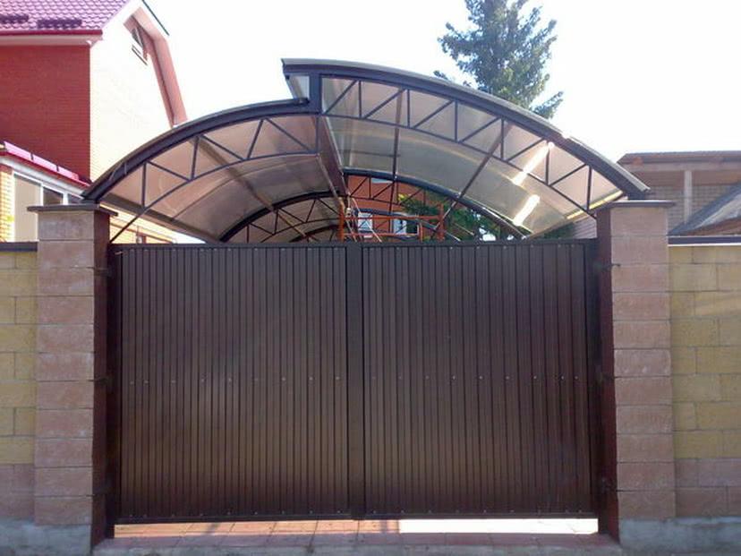Ворота отварные на дачу где купить распашные ворота с профнастила цена
