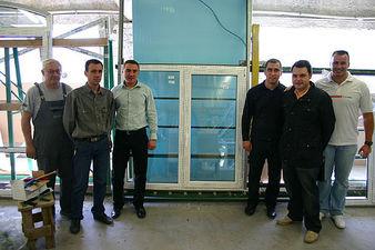 Производство первого в Украине пластикового окна из профильной системы REHAU GENEO — ГАЗДА