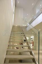 Стеклянное ограждение лестницы — ГлассПро