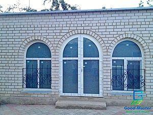 Арочные входные двери и окна от компании Good Master — Good Master