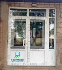 Входные металлопластиковые двери от компании Good Master — Good Master