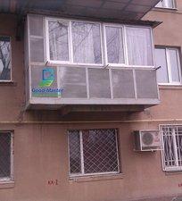 Обшивка балкона шифером от компании Good Master. — Good Master