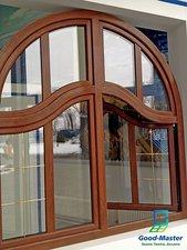 Арочные нестандартные окна со шпроссами — Good Master