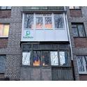 Альбом: Установка балконного остекления по типу француз.