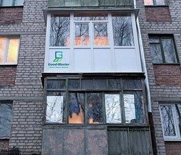 """Остекление от пола до потолка на балконе - тип """"французское остекление"""" — Good Master"""