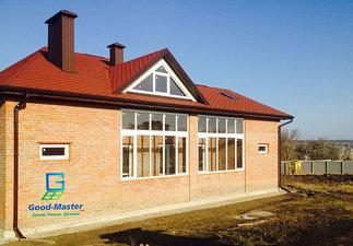 Окна для коттеджей и загородных домов. — Good Master