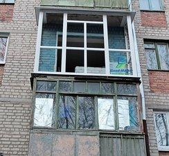 Монтаж и устройство балкона от компании Good Master Харьков. — Good Master