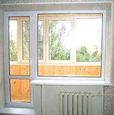 Выход на балкон-балконный блок, немецкий профиль aluplast, немецкая фурнитура Roto — Good Master