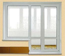 балконный блок WDS, фурнитура Roto+энергосберегающие стеклопакеты от компании Good Master — Good Master