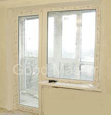 Остекление выхода на балкон и самого балкона нашей компанией Good Master Харьков — Good Master