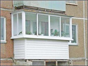 Расширение жилой площади квартиры за счёт балкона, обшивка нашей компанией Good Master — Good Master