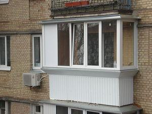 Балкон. — КИЕВПЛАСТ