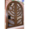 Арочная дверь - `Цветок лотоса`