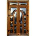 Входные двери с дутым стеклом