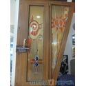 Технология `Псевдовитраж` в окнах и дверях от ТМ `Вікна КОРСА`