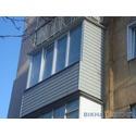 Остекление балконов от ТМ `Вікна КОРСА`