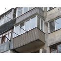 Конечный результат  переделывания балкона