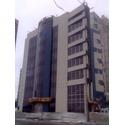Светопрозрачный фасад здания из алюминиевого профиля
