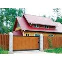 остекление дома `под ключ` и раздвижные ворота