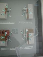 стенд с возможными узлами примыканий — Нормаизол