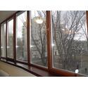 Алюминиево-деревянное окно PERLA (MIXALL Италия)