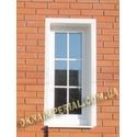 Металлопластиковые окна со шпросами