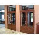 входные двери алюминиевые