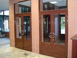 входные двери алюминиевые — Олта