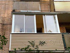 остекление балкона, раздвижные системы — Олта