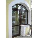 балконный блок пластиковый, двери на балкон