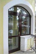 балконный блок пластиковый, двери на балкон — Олта