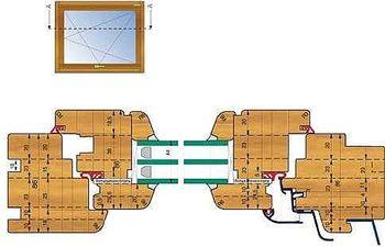 Геометрия деревянного евроокна - галерея компании OPEN фото 7774