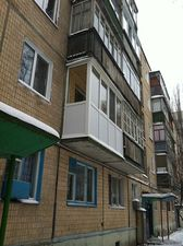 Балкон под ключ Харьков — Откос-АТМР