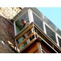 Балкон в работе