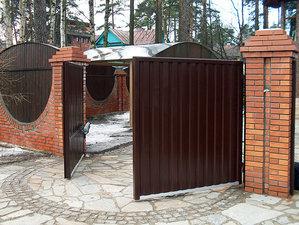 Распашные ворота — Ковальчук