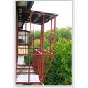 каркас балкона с выносом
