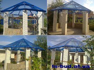 Шестигранная стеклянная крыша — ФС-Буд