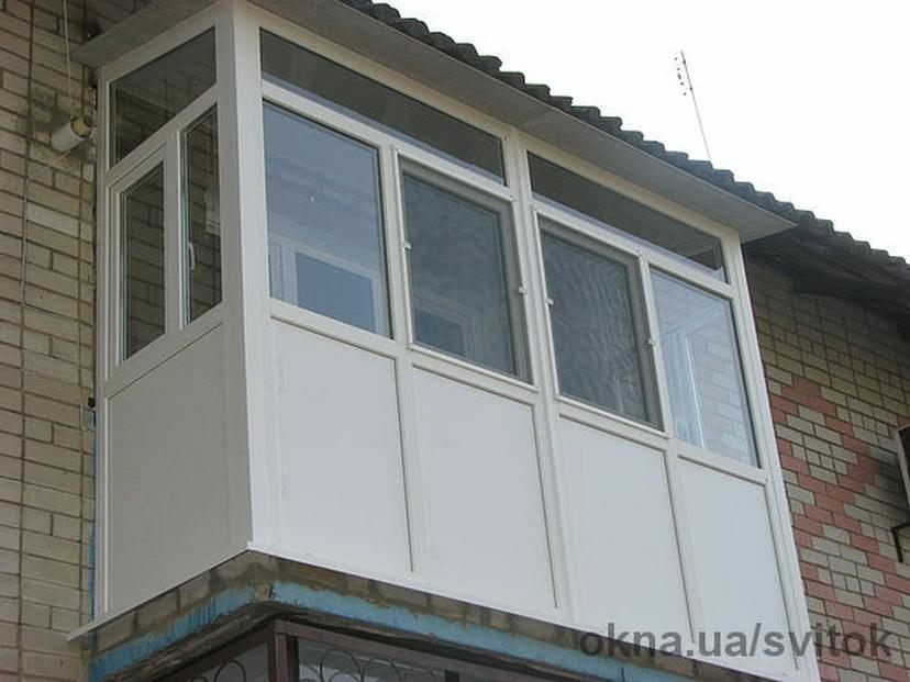 Балкон под ключ цена фото